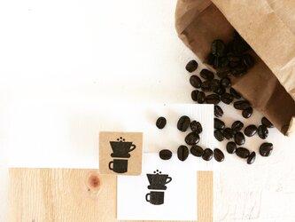 coffeeのアイコンはんこ『ドリッパー②』の画像