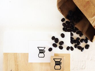 coffeeのアイコンはんこ『ドリッパー①』の画像