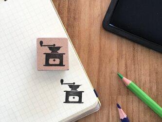 coffeeのアイコンはんこ『ミル②』の画像