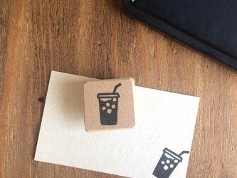 coffeeのアイコンはんこ『テイクアウトアイスコーヒー』の画像