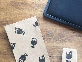 coffeeのアイコンはんこ『アイスコーヒー』の画像