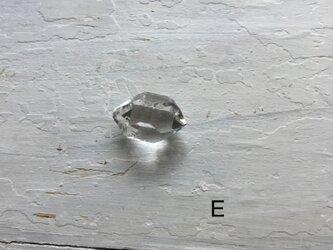 Herkimer diamond ルース Eの画像