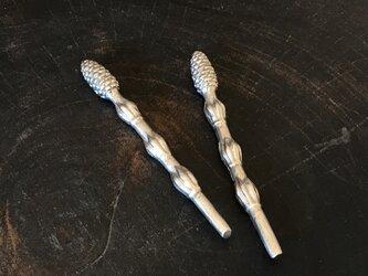 ツクシの箸置きの画像