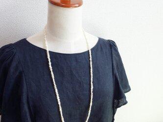 バロックパール ロングネックレス の画像