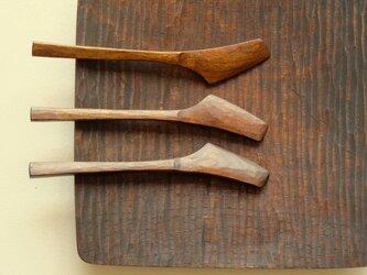 山桜の木のバターナイフ (type-SU)の画像