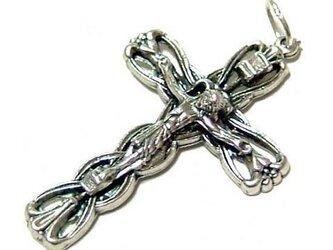 イタリア製十字架クロスペンダントトップの画像