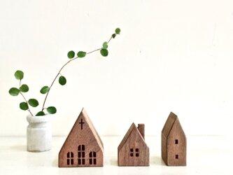 小さな木の家 ー教会52ーの画像