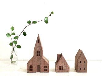 小さな木の家 ー教会54ーの画像