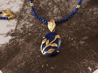 青い石 ラピスラズリの画像