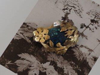 青い石 シャッタカイトクリソコラの画像