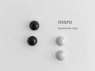 陶maru : ピアス/イヤリング monotoneの画像