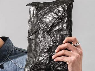 おしゃれ 流れ 新デザイン 手提げバッグ  レジャーバッグ トートバッグ シープスキンの画像