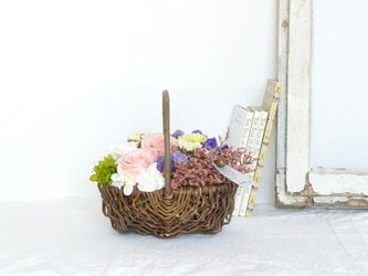 ジャルダン(バラとスターチス)☆5月11・12日着ご希望の方は、5月3日までにご注文下さい!の画像