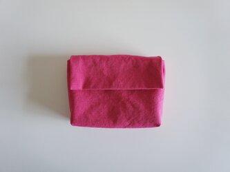 きちんとポーチ L  / pinkの画像