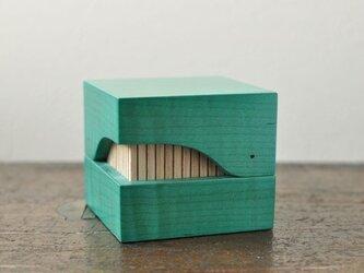クジラ箱(ブルー)の画像