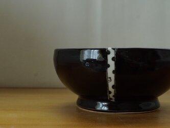 水玉パンダ黒鉢の画像