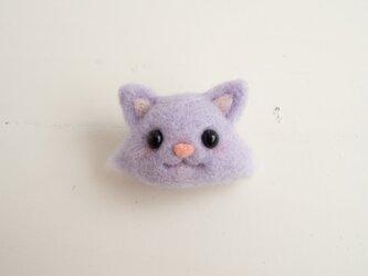 フェイスアップブローチ【チェシャ猫】の画像