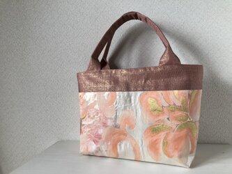 帯バッグ〜サーモンピンク〜の画像