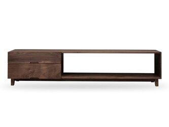 受注生産 職人手づくり テレビ台 ローボード センターテーブル ソファーテーブル おしゃれ サイズオーダー可 天然木の画像