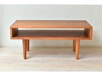 受注生産 職人手作り センターテーブル コーヒーテーブル ソファーテーブル サイズオーダー可 家具 木工 収納 テーブルの画像