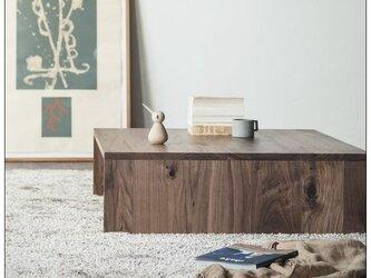 受注生産 職人手づくり センターテーブル コーヒーテーブル ソファーテーブル サイズオーダー可 家具 木工 家具 収納の画像