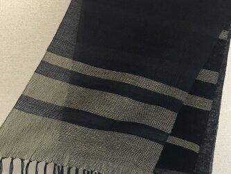 手織りストール SP15の画像