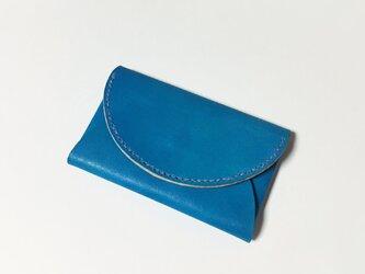 カードケース(ターコイズブルー)の画像
