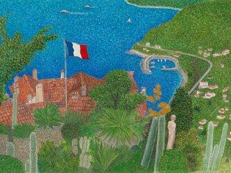 地中海の風~エズのサボテン庭園にての画像