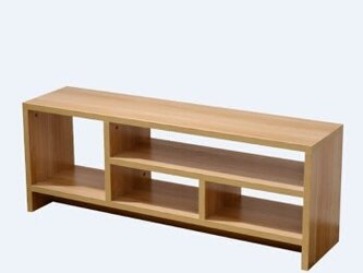 受注生産 職人手作り ローボード テレビ台 AVボード 収納 サイズオーダー可 家具 木工 収納 リビング 天然木 木目の画像