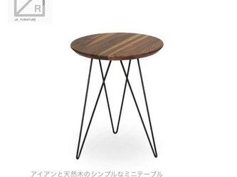 受注生産 職人手づくり サイズオーダー可 コーヒーテーブル ソファーテーブル ミニテーブル アイアンウッド 家具 天然木の画像