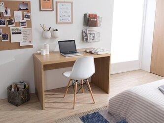 受注生産 職人手づくり デスク パソコン机 作業台 テーブル サイズオーダー可 天然木 木目 家具 パソコンデスク 国産の画像