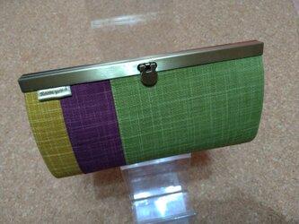 強化 長財布(なごみtorico green)の画像
