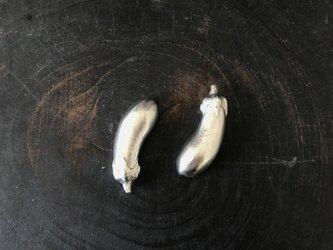 ナスの箸置きの画像