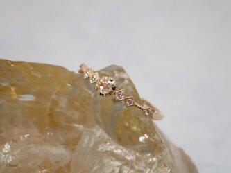 ローズカットダイヤモンド スピカ ミルグレイン リング  (Spica Millgrain Ring)の画像