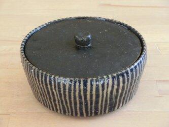 シマシマ平らフタもの容器の画像