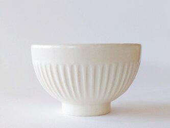 しのぎのご飯茶碗(白)の画像