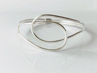 Knot Bangle / silverの画像