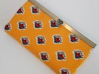 moda 小花柄 長財布の画像