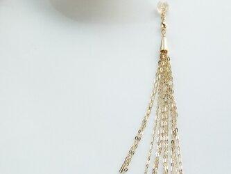 k10✼chain pierced catchs:single 92030の画像