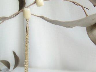 k10✼Makkoh pierced earrings 92031の画像