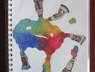 リングノート *colorful*の画像