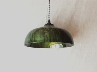 木と漆のランプ E26 (ks17)の画像