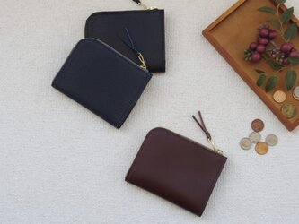 L字ファスナー財布⑤の画像