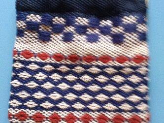 便利な☆手織りのポーチ ミニの画像
