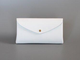 ベーシック ロングウォレット#白 / basic long wallet #whiteの画像