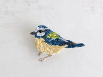 刺繍のブローチ Bird Cの画像