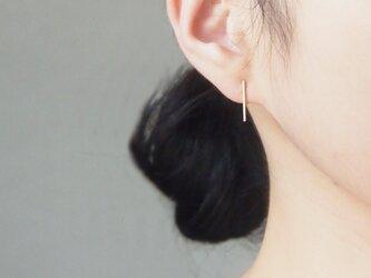 14kgf:ピアスのようなイヤリング~シンプルライン~の画像