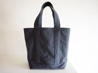 TOTE BAG (L) / charcoalの画像