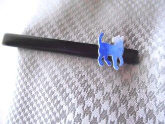 ネコ型ネクタイピン 【送料無料】の画像