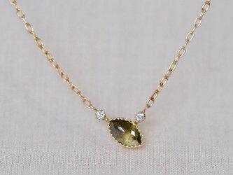 littlest bouquet necklace/fernの画像